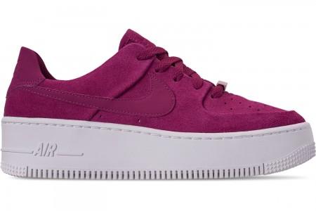 Nike Women's AF1 Sage XX Low Casual Shoes - True Berry/Plum Chalk