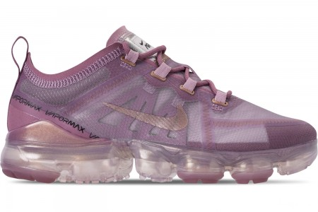 Nike Women's Air VaporMax 2019 Running Shoes - Plum Chalk/Metallic Red Bronze/Plum Dust