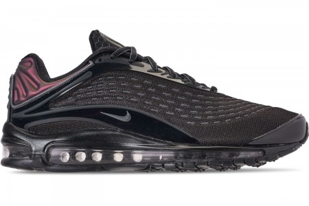 Nike Unisex Air Max Deluxe Casual Shoes - Black/Dark Grey