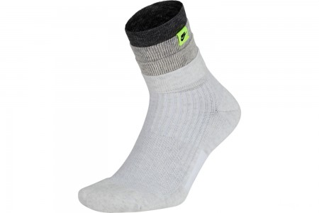 Nike Men's Sneaker Sox Air Max '95 Crew Socks - Dark Grey Heather/Volt