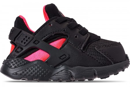 Nike Kids' Toddler Nike Huarache Run Casual Shoes - Black/Anthracite/Solar Red