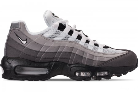 Nike Men's Air Max 95 OG Casual Shoes - Black/White/Graphite/Dust/Pewter