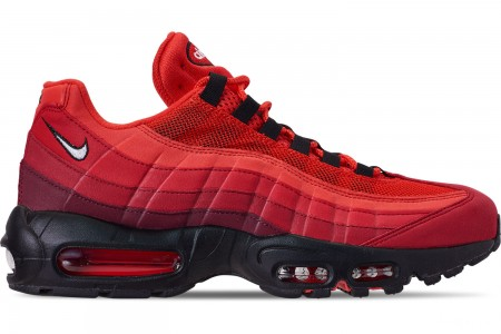 Nike Men's Air Max 95 OG Casual Shoes - Habanero Red/White/University Red
