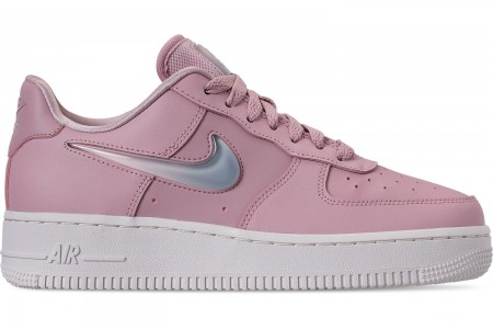 Nike Women's Air Force 1 '07 SE Premium Casual Shoes - Plum Chalk/Obsidian Mist/Summit White