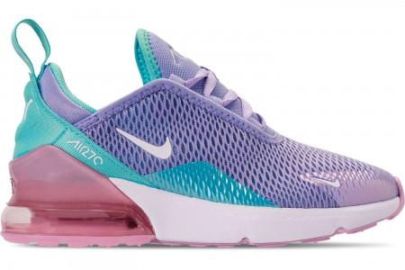 Nike Girls' Little Kids' Air Max 270 Casual Shoes - Unicorn Gel