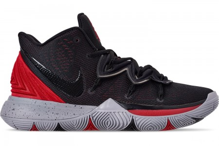Nike Men's Kyrie 5 Basketball Shoes - University Red/Black