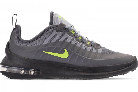 Nike Big Kids' Air Max Axis Casual Shoes - Anthracite/Volt/Cool Grey/Black/Purple