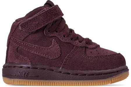 Nike Boys' Toddler Air Force 1 Mid LV8 Casual Shoes -