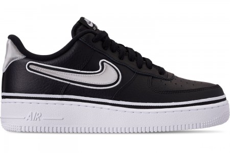 Nike Men's Air Force 1 '07 LV8 Sport Casual Shoes - Black/White