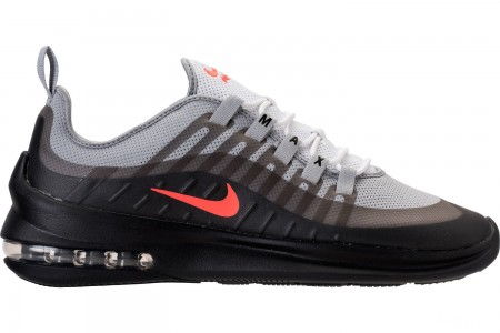 Nike Men's Air Max Axis Casual Shoes - Wolf Grey/Total Crimson/Black