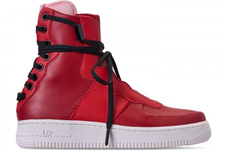 Nike Women's Air Force 1 Rebel XX Casual Shoes - Gym Red/Arctic Pink/Summit White