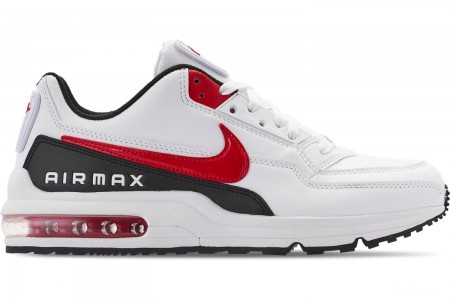 Nike Men's Air Max LTD 3 Casual Shoes - White/University Red/Black
