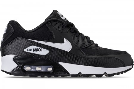Nike Women's Air Max 90 Casual Shoes - Black/White
