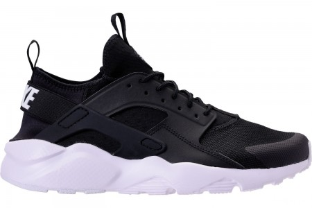 Nike Men's Nike Air Huarache Run Ultra Casual Shoes - Black/White