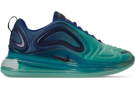 Nike Men's Air Max 720 Running Shoes - Deep Royal Blue/Black/Hyper Jade