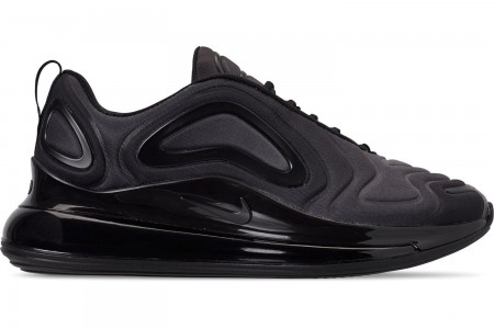 Nike Men's Air Max 720 Running Shoes - Black/Anthracite