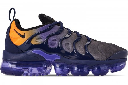 Nike Women's Air VaporMax Plus Casual Shoes - Persian Violet/Black/Midnight Navy