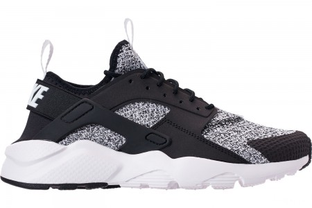 Nike Men's Nike Air Huarache Run Ultra SE Casual Shoes - Black/White