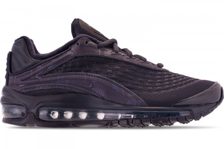 Nike Women's Air Max Deluxe SE Casual Shoes - Oil Grey/Oil Grey/Oil Grey
