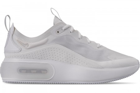 Nike Women's Air Max DIA Special Edition Casual Shoes - White/Metallic Silver/Summit White