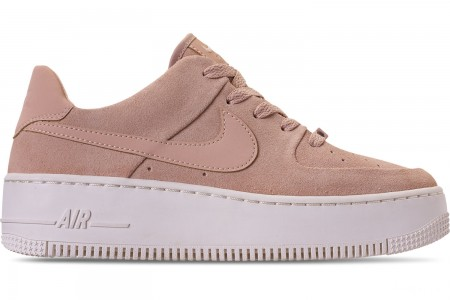 Nike Women's AF1 Sage XX Low Casual Shoes - Particle Beige/Phantom