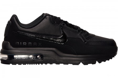 Nike Men's Air Max LTD 3 Casual Shoes - Black/Black