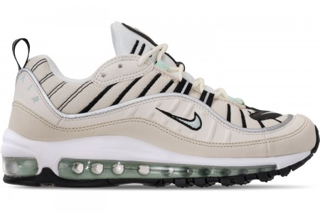 Nike Women's Air Max 98 Casual Shoes - Sail/Igloo/Fossil/Reflect Silver