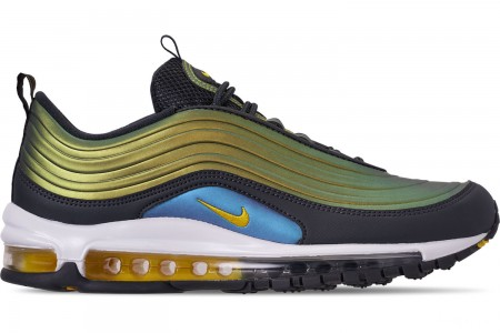 Nike Men's Air Max 97 LX Casual Shoes - Anthracite/Amarillo/Summit White