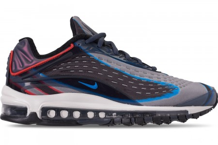 Nike Men's Air Max Deluxe Casual Shoes - Thunder Blue/Photo Blue/Dark Russet