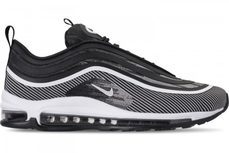 Nike Men's Air Max 97 Ultra 2017 Casual Shoes - Black/White