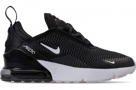 Nike Little Kids' Air Max 270 Casual Shoes - Black/White/Anthracite