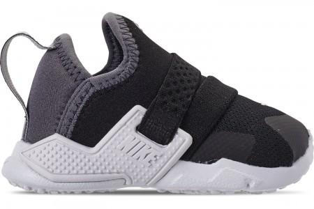 Nike Kids' Toddler Nike Huarache Extreme SE Casual Shoes - Black/Metallic Silver/Dark Grey