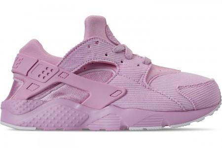 Nike Girls' Little Kids' Nike Huarache Run SE Casual Shoes - Light Arctic Pink/Light Arctic Pink/Black