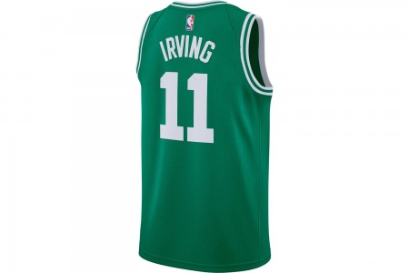 Nike Men's Boston Celtics NBA Kyrie Irving Icon Edition Connected Jersey - Clover