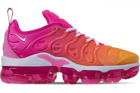 Nike Women's Air VaporMax Plus Casual Shoes - Laser Fuchsia/White/Psychic Pink