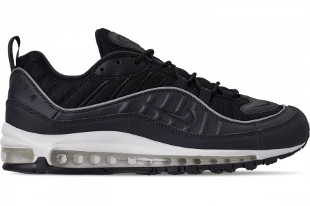 Nike Men's Air Max 98 Casual Shoes - Oil Grey/Grey/Black Summit