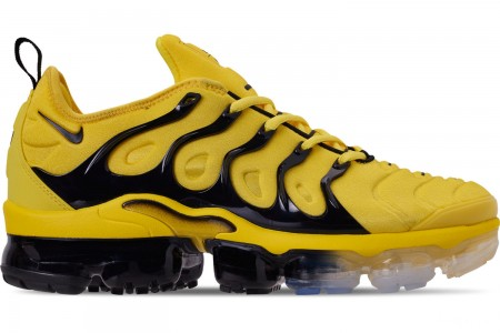 Nike Men's Air VaporMax Plus Running Shoes - Opti Yello/Black/Opti Yellow/White