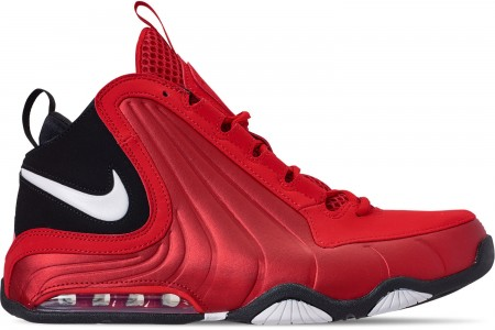 Nike Men's Air Max Wavy Basketball Shoes - University Red/White/Black