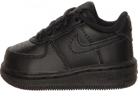 Nike Kids' Toddler Air Force 1 Low Casual Shoes - Black