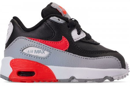 Nike Kids' Toddler Air Max 90 Leather Casual Shoes -