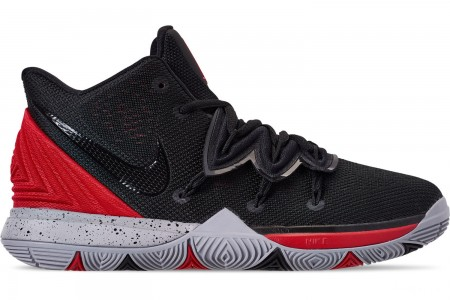 Nike Boys' Big Kids' Kyrie 5 Basketball Shoes - University Red/Black/Pure Platinum