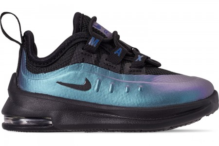 Nike Kids' Toddler Air Max Axis Casual Shoes - Black/Black/Racer Blue