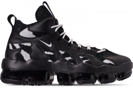 Nike Men's VaporMax Gliese Casual Shoes - Black/White