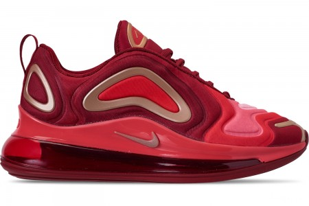 Nike Girls' Big Kids' Air Max 720 Running Shoes - Team Crimson/Metallic Red Bronze/Gym Red