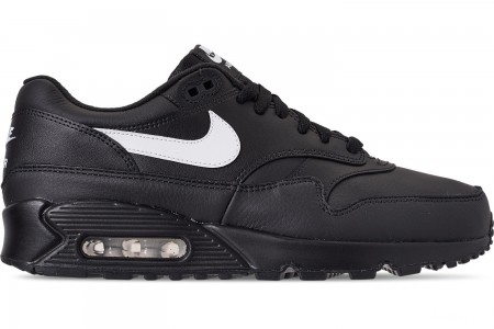 Nike Men's Air Max 90/1 Casual Shoes - Black/White