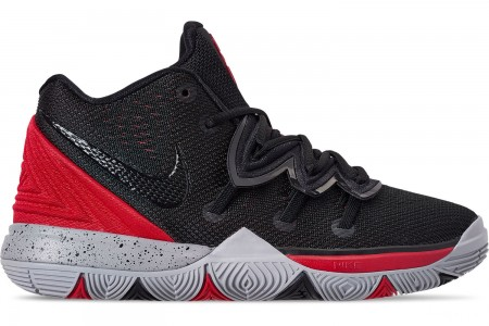 Nike Boys' Little Kids' Kyrie 5 Basketball Shoes - University Red/Black/Pure Platinum
