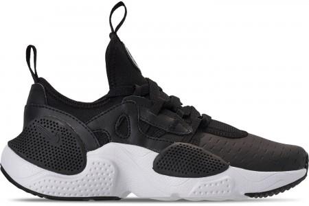 Nike Boys' Big Kids' Nike Huarache E.D.G.E Casual Shoes - Black/White