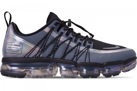Nike Men's Air VaporMax Run Utility Running Shoes - Blue Dusk/Black/Anthracite