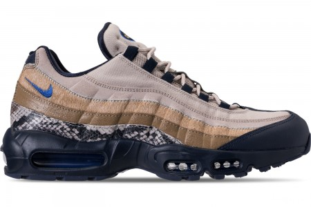 Nike Men's Air Max 95 SOF Casual Shoes - Newsprint/Blue Hero/String/Canteen