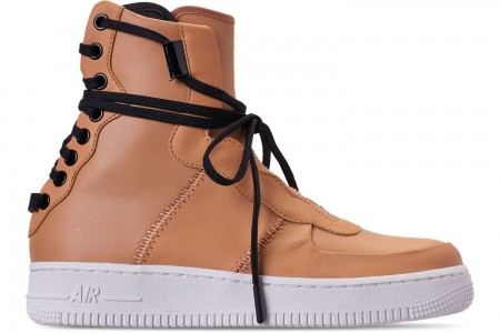 Nike Women's Air Force 1 Rebel XX Casual Shoes - Praline/Black/Summit White